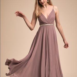 BHLDN Eva dress in blush